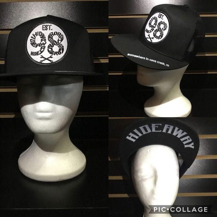 Roadhouse / The Hideaway Grill - Cave Creek: 98 Logo Baseball Cap - Black