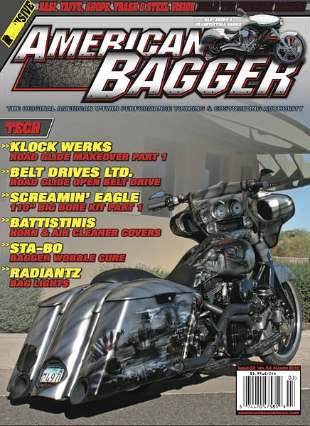 American Bagger Cover - The Hideaway Grill in Cave Creek, AZ