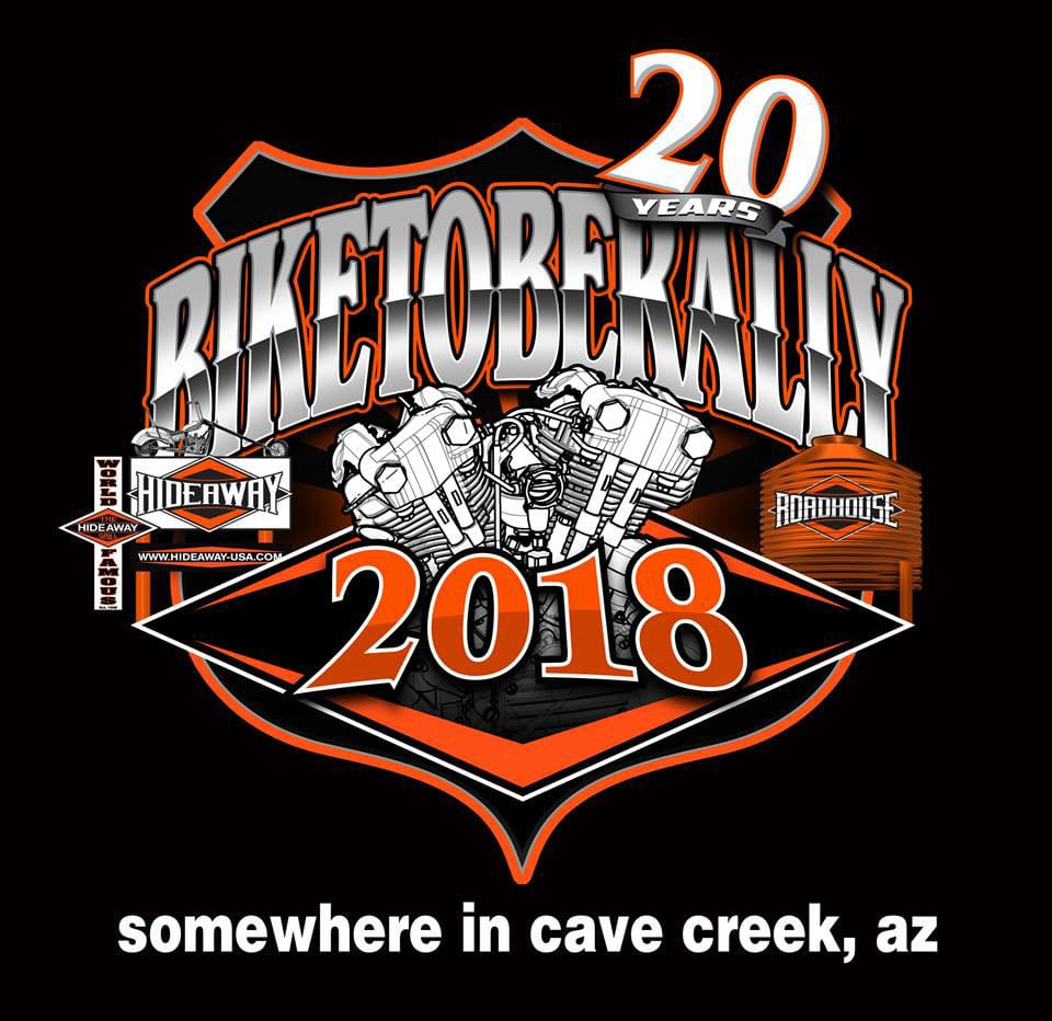 Hideawy Grill and the Roadhouse Presents Biketoberally - 2018
