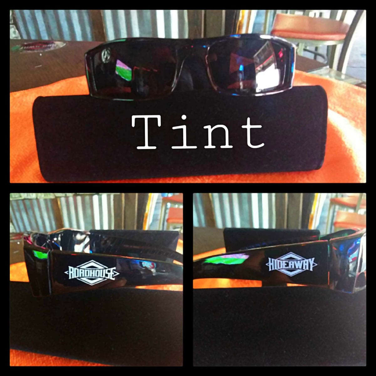 Roadhouse / Hideaway Glasses - Tinted Lenses