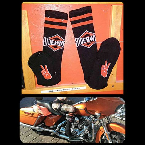 The Hideaway Grill: Socks - Black