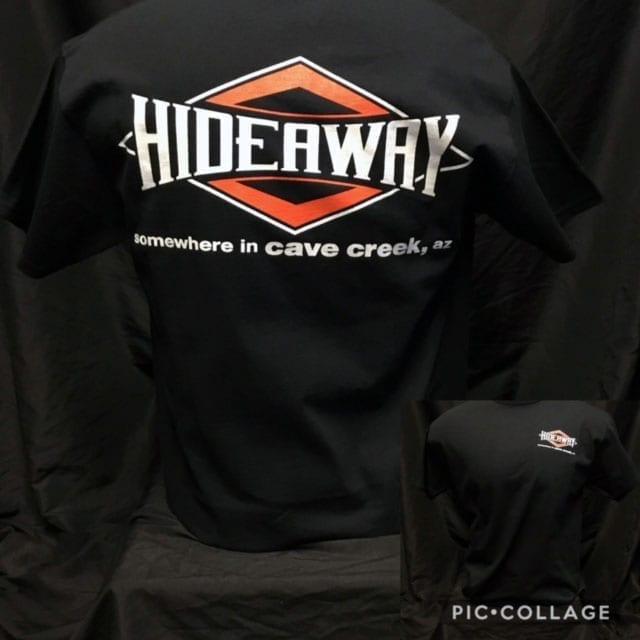 Hideaway: Men's Short Sleeve Diamond Shirt - Black
