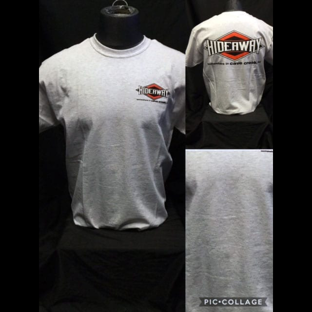 Hideaway: Men's Short Sleeve Diamond Shirt - Grey