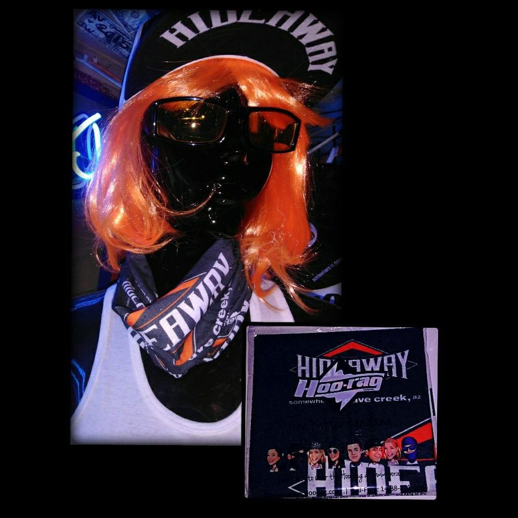 The Hideaway Grill: Hoo-rag - Black