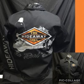 The Hideaway Grill: Men's Dickies Jacket - Back