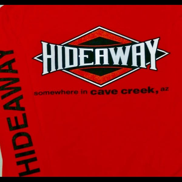 Hideaway: Men's Long Sleeve Diamond Shirt - Orange