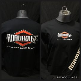 Roadhouse: Men's Long Sleeve Diamond Shirt - Black