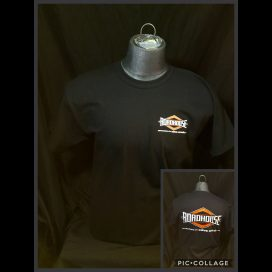 Roadhouse: Men's Short Sleeve Diamond Shirt - Black