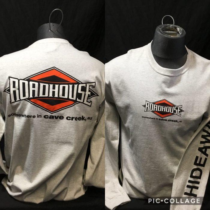 Roadhouse: Men's Long Sleeve Diamond Shirt - Grey