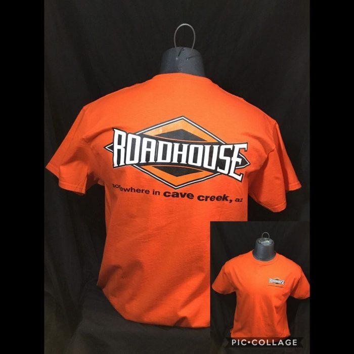 Roadhouse: Men's Short Sleeve Diamond Shirt - Orange