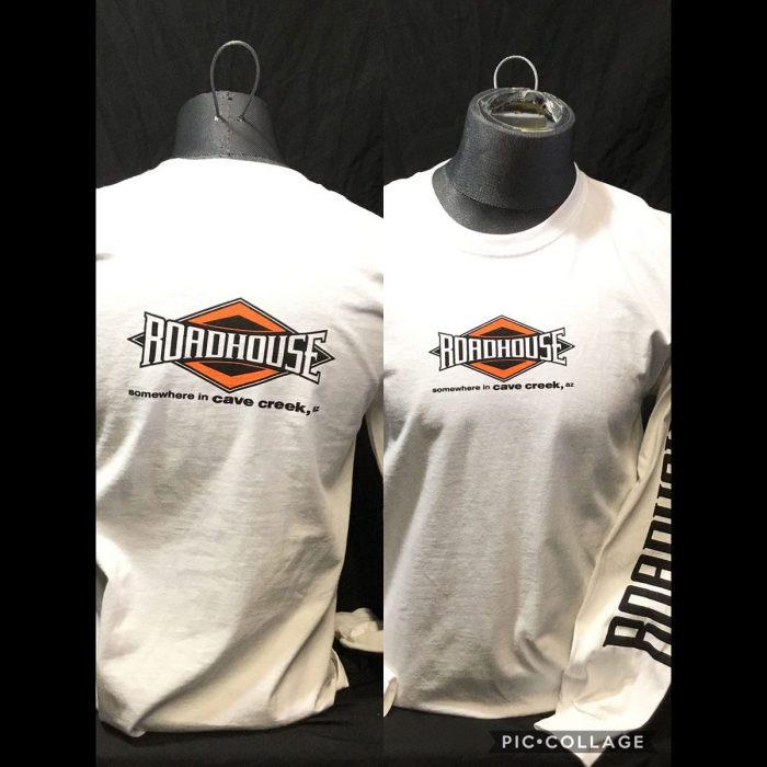 Roadhouse: Men's Long Sleeve Diamond Shirt - White