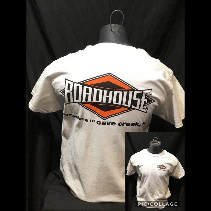 Roadhouse: Men's Short Sleeve Diamond Shirt - White