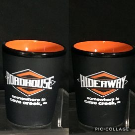 Roadhouse/Hideaway Shot Glass