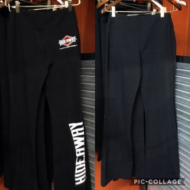 The Hideaway Grill - Women's Diamond Sweatpants - Black