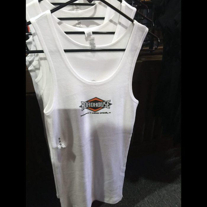 Roadhouse: Women's Tank - White