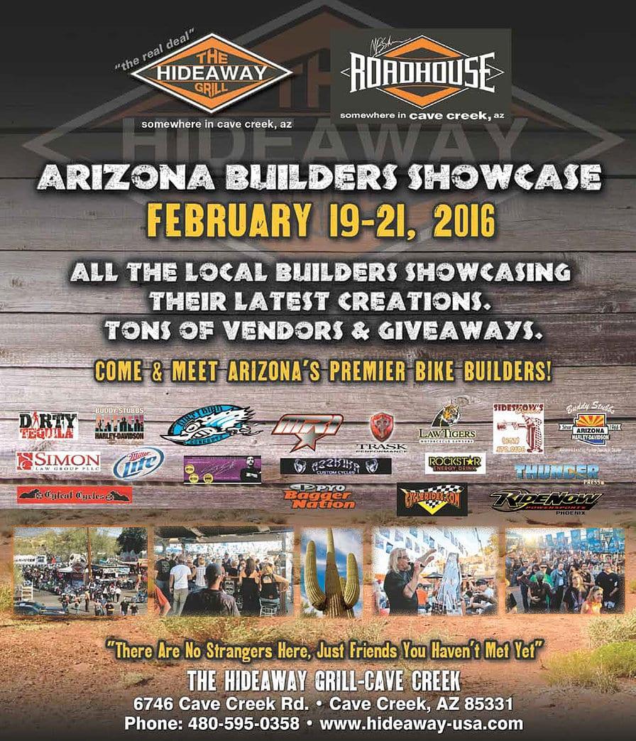 Arizona Builder's Showcase - The Hideaway Griill - Cave Creek, AZ