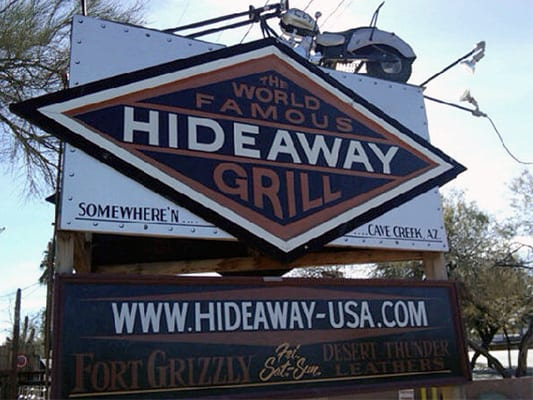 The Hideaway Grill - Somewhere near Cave Creak , AZ