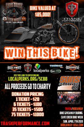 Trask Bike Raffle: Win This Bike - All Proceeds Go To Charity