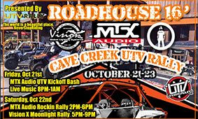 Cave Creek UTV Rally