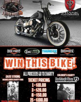 Trask Bike Raffle - Win This Bike - All Proceeds Go To Charity