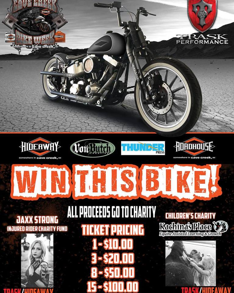 Trask Bike Raffle: Win This Bike - All Proceeds Go To Charity